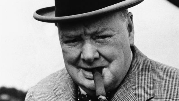 Sir Winston Churchill, en una fotografía tomada en 1949 -