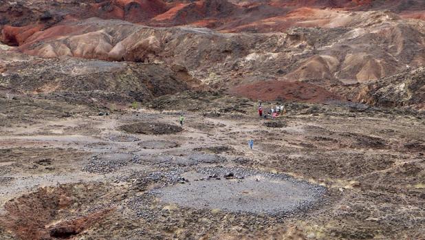 Vista del yacimiento de Lothagam Norte, donde ha hallado el cementerio
