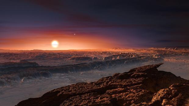 Así podría ser la superficie de Proxima Centauri b, el exoplaneta más cercano a la Tierra, a solo 4,2 años luz de distancia. ¿Seríamos capaces de caminar sobre él?