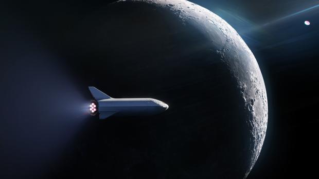 El primer turista espacial despegará hacia la Luna en un vehículo Big Falcon Rocket