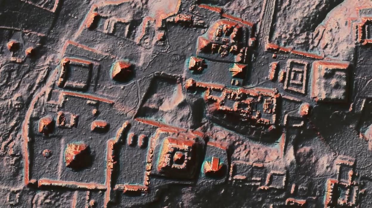 El láser revela los secretos de 61.480 estructuras mayas escondidas en la jungla