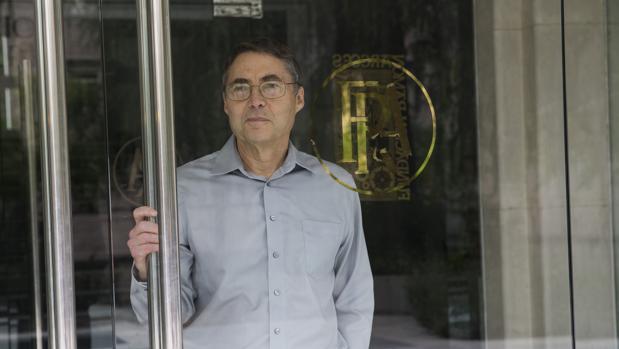 Carl Wieman, en la Fundación Ramón Areces (Madrid), este jueves