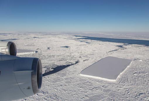 La NASA descubre un iceberg perfectamente rectangular en la Antártida 20181016-k34B--510x349@abc
