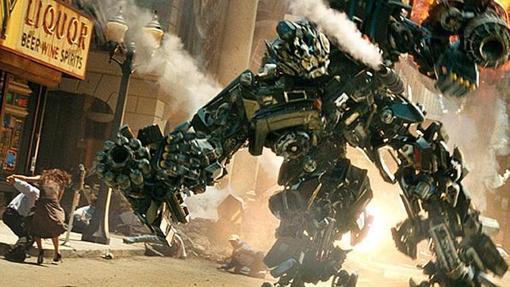 Fotograma de la película «Transformers: La era de la extinción»