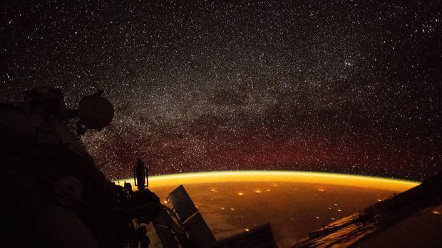 Imagen tomada por un astronauta a bordo de la Estación Espacial Internacional el pasado 7 de octubre