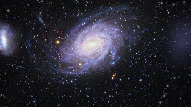 Gran Nube de Magallanes, la Vía Láctea y Antlia 2