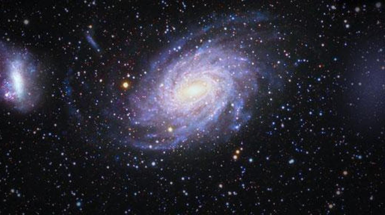 Descubren una gigantesca galaxia fantasma oculta tras la Vía Láctea