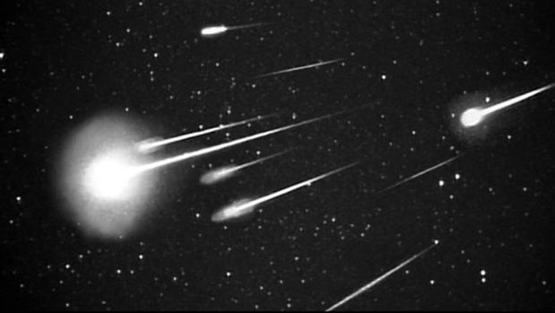 Explosión de meteoros de las Leónidas