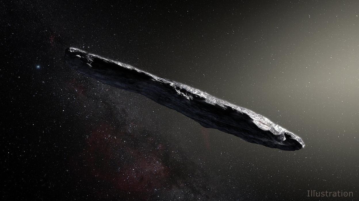 La NASA reduce el tamaño del misterioso primer visitante interestelar