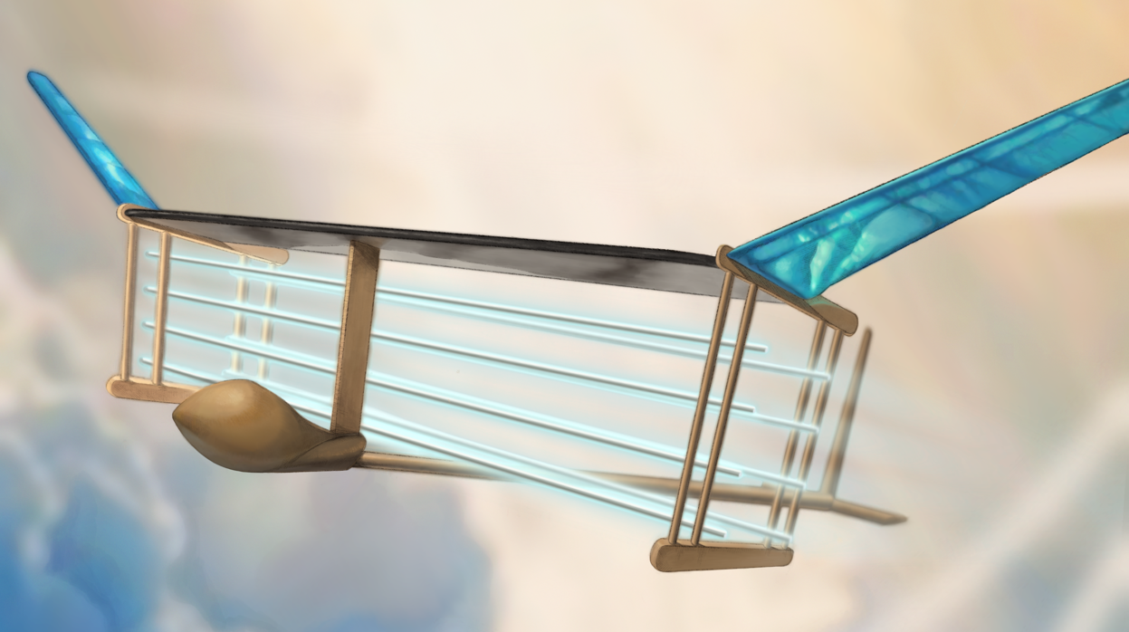 Crean un avión propulsado por «viento iónico», sin hélices y que no necesita combustible