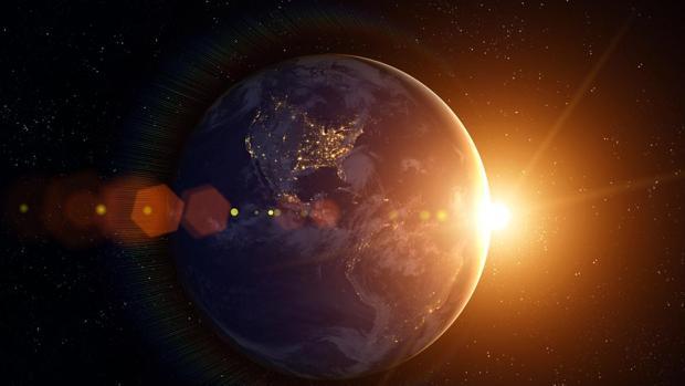 La Tierra en órbita alrededor del Sol