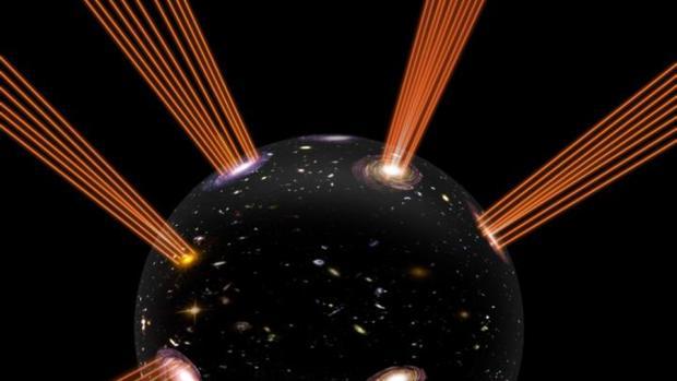 """Nuestro Universo estaría """"montado"""" sobre una burbuja que se expande en otra dimensión, según la nueva teoría de un equipo de investigadores de la Universidad de Uppsala"""