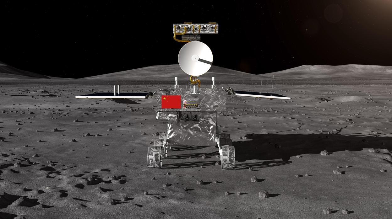China aluniza con éxito en la cara oculta de la Luna