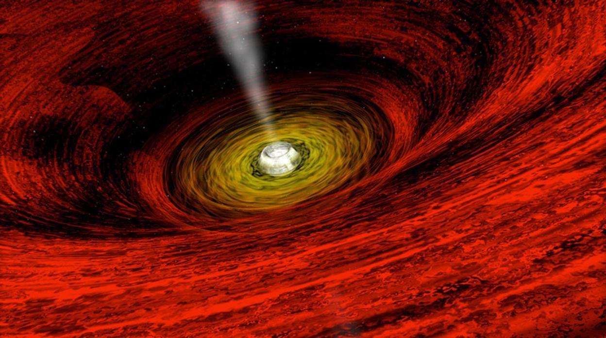 Afirman que se podría cruzar un agujero negro en una nave