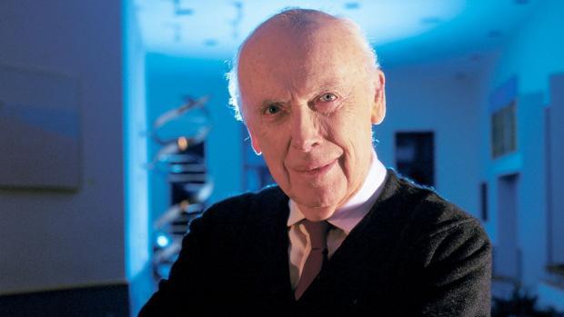 El premio Nobel James Watson