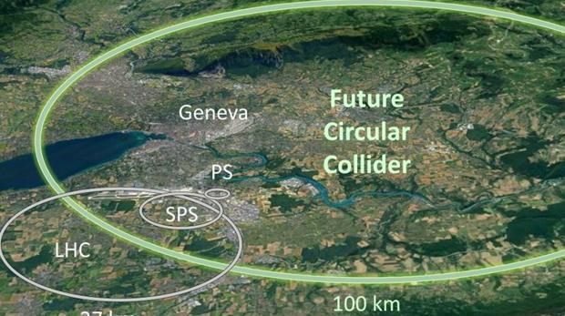 Así sería el nuevo acelerador de partículas