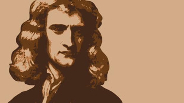 Ilustración de Sir Isaac Newton