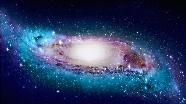 La ilustración muestra cuál sería el aspecto real de nuestra galaxia vista desde fuera