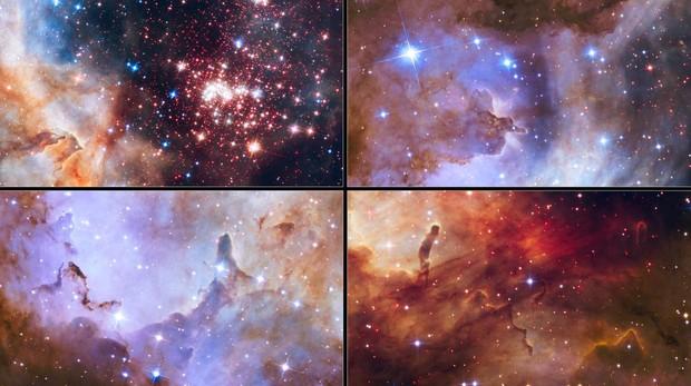 La composición del Universo está cambiando en este mismo momento