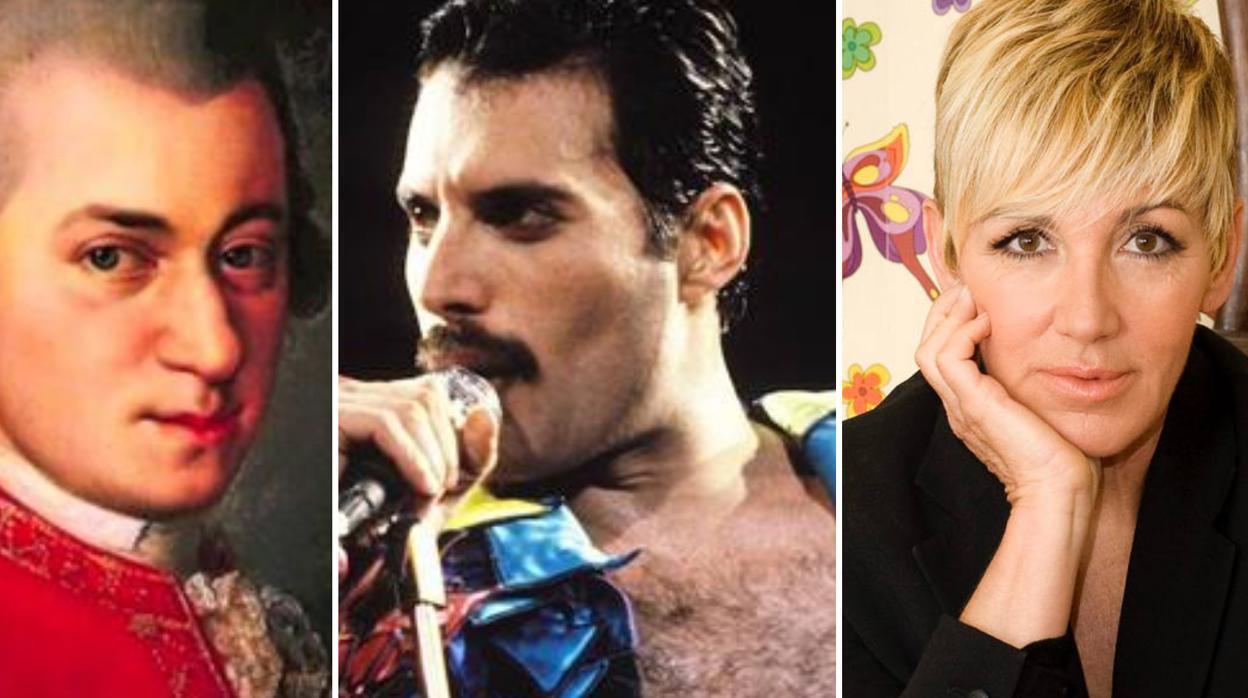 La «anomalía» cerebral que comparten Mozart, Freddie Mercury y Ana Torroja