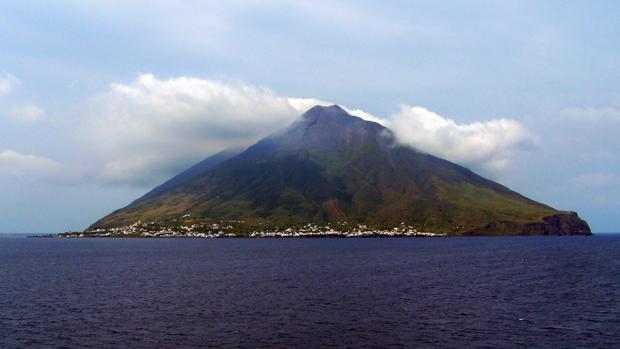 La isla de Estrómboli
