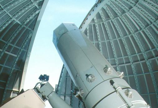 El telescopio de 1,93 m del Observatorio de Haute-Provence, en el que se monta el espectrógrafo SOPHIE, que permitió el descubrimiento del exoplaneta Gl411b