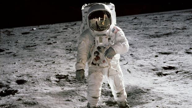 Buzz Aldrin, fotografiado por Neil Armstrong, durante la misión Apolo 11