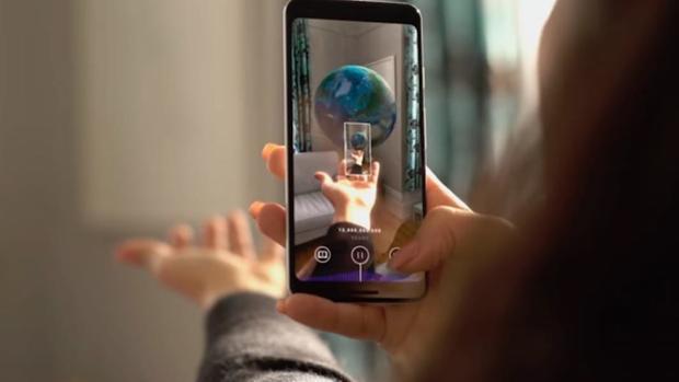 La aplicación Big Bang AR muestra desde el Big Bang hasta nuestros días