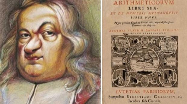 Pierre de Fermat (1607-1665) y portada de la obra Arithmetica de Diofanto