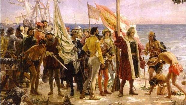 Los conquistadores llegan a las Américas