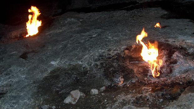 Las llamas del monte Quimera, en Turquía, llevan miles de años sin apagarse
