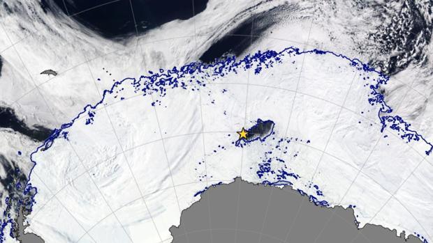 La misteriosa polinia registrada por los satélites en 2017 y que solo se ha visto otra vez en 1970