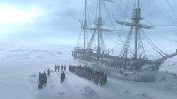 Fotograma de «The Terror», serie de ficción ambientada en la tragedia de la expedición de sir John Franklin