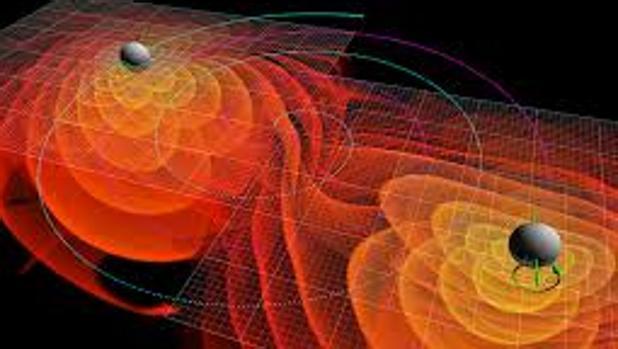 Resultado de imagen de Ondas gravitatorias