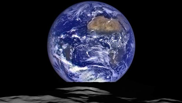 La Tierra, desde la perspectiva de la Luna