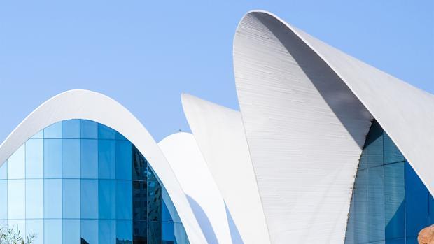 La fantástica arquitectura del Oceanogràfic