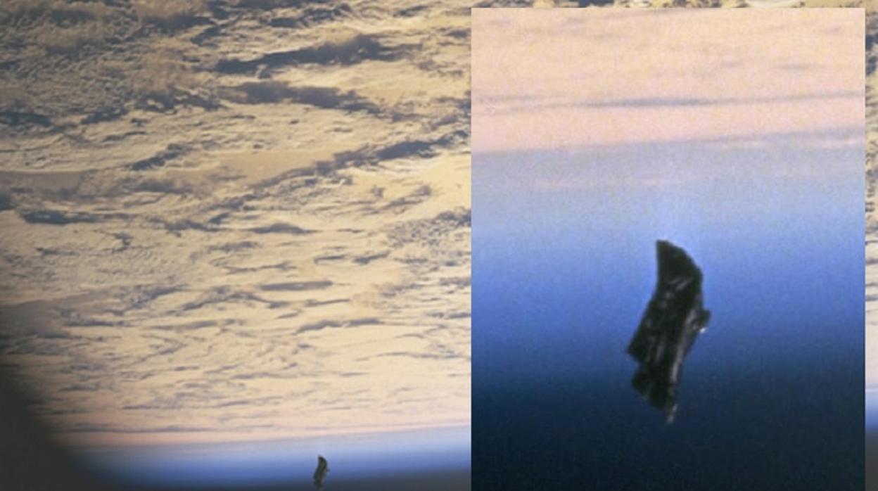 """Resultado de imagen de «Black Knight», la supuesta nave interestelar que vigila la Tierra desde hace milenios"""""""