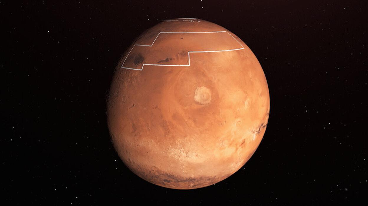 Resultado de imagen para La NASA traza un mapa del tesoro para encontrar el agua de Marte