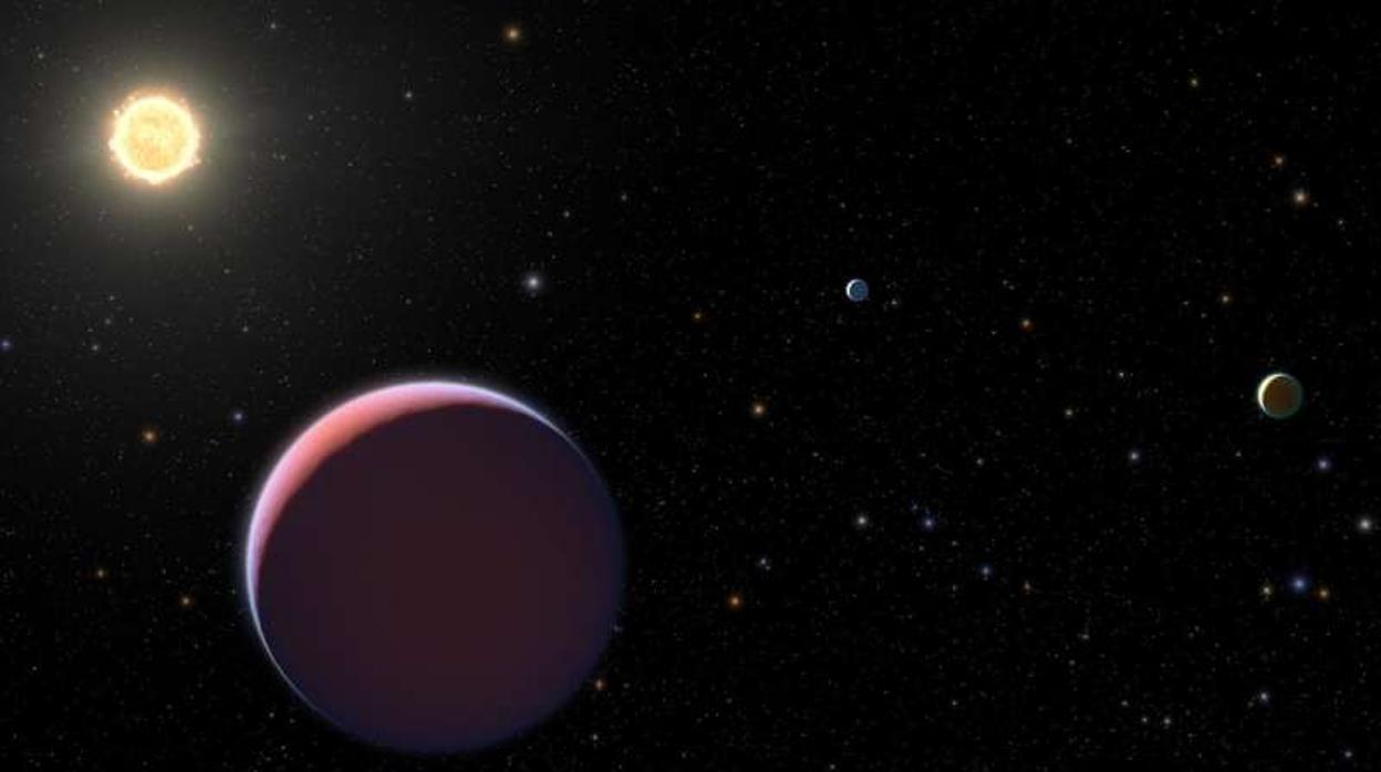 Resultado de imagen para Descubren extraños planetas tan blandos como el «algodón de azúcar»