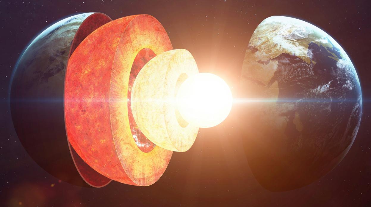 Resultado de imagen para ¿Están nevando copos de hierro en el núcleo de la Tierra?