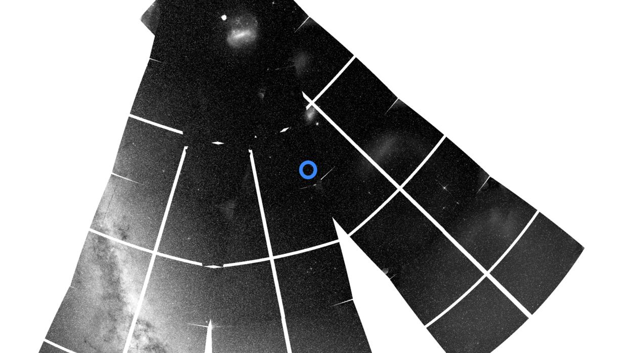 Resultado de imagen para Una sola estrella revela cómo otra galaxia se nos vino encima