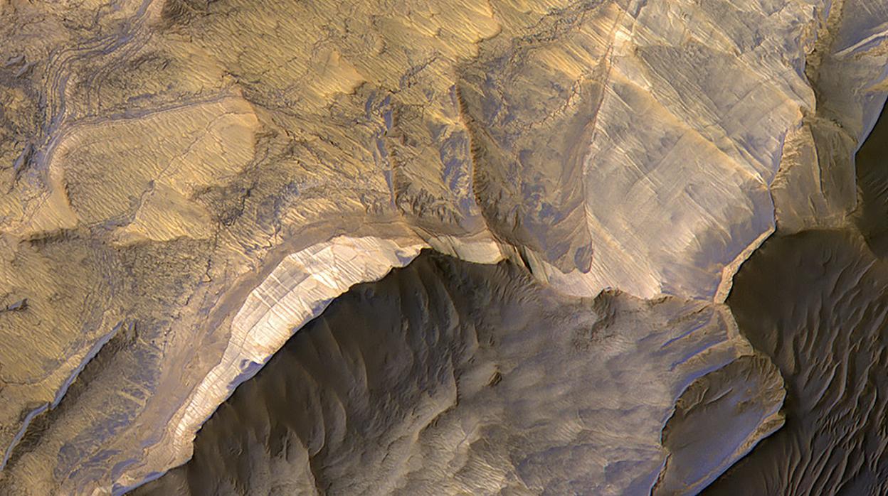 Resultado de imagen para Las impresionantes imágenes de Marte que demuestran su pasado húmedo y potencialmente habitable