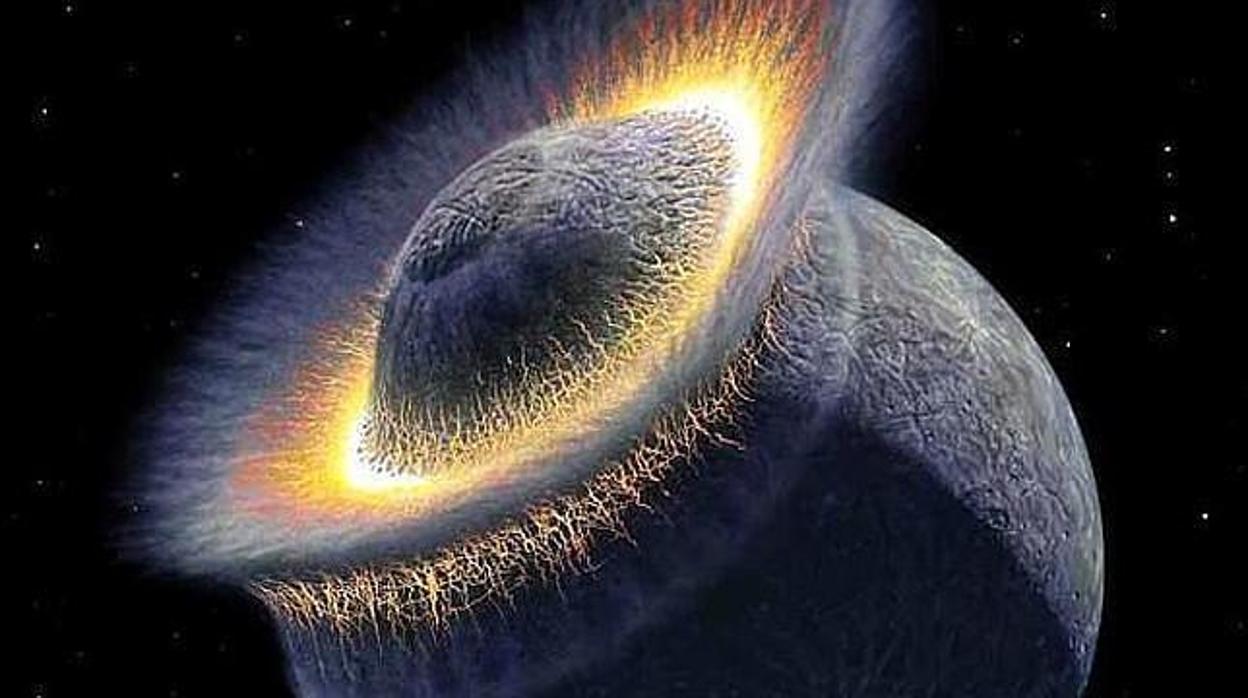 Resultado de imagen de Encuentran evidencias de que la Tierra y la Luna no tienen la misma composición