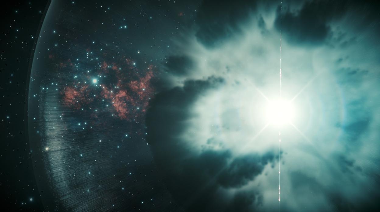Resultado de imagen de Las explosiones de rayos gamma retroceden en el tiempo... porque sus ondas viajan más deprisa que la luz