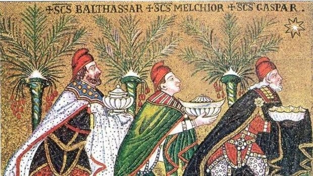 Image result for mosaico reyes magos ravena