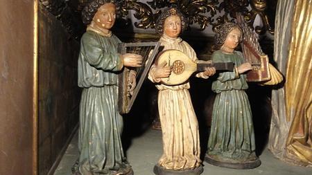 Los ángeles músicos del Belén de Jesús