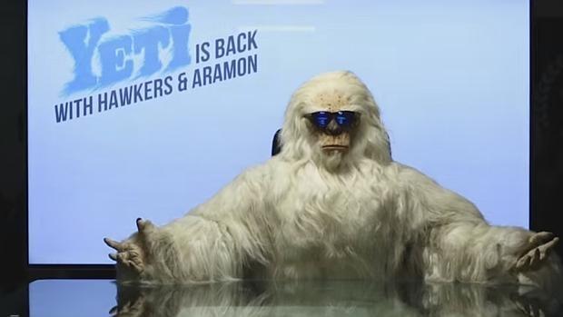 El «Yeti» de Hawkers & Aramón salta el primer plano mediático