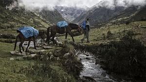 Exploradores españoles descubren un centro ceremonial inca que prueba la existencia de sacrificios humanos