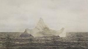 ¿El iceberg que hundió al Titanic?