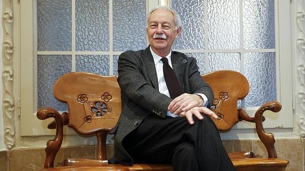 Eduardo Mendoza, en La Pedrera, donde presentó su nueva novela